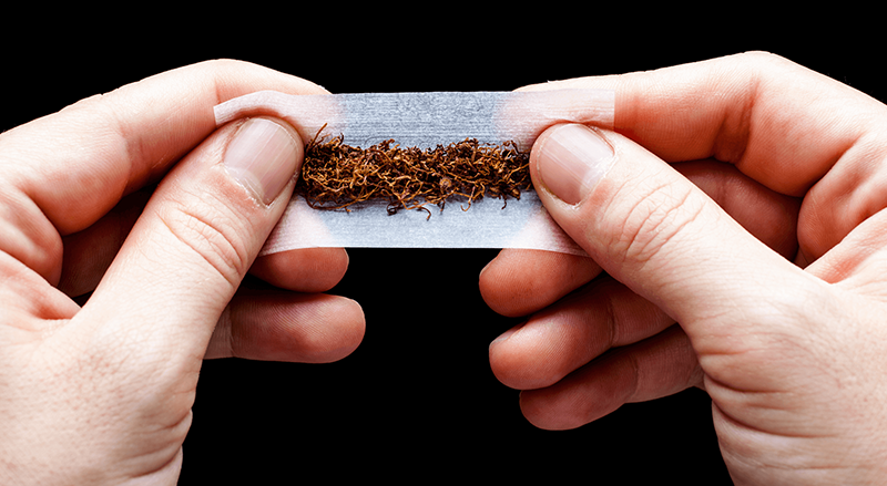 An innovation-revolution in RYO: rolling your tobacco with organic, vegan and bio-degradable materials